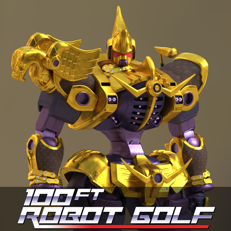 100ft Robot Golf - Freelance