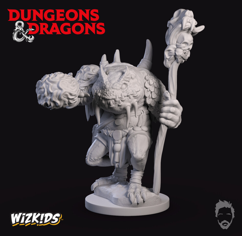 Wizkids - Dungeons and Dragons - Green Slaad