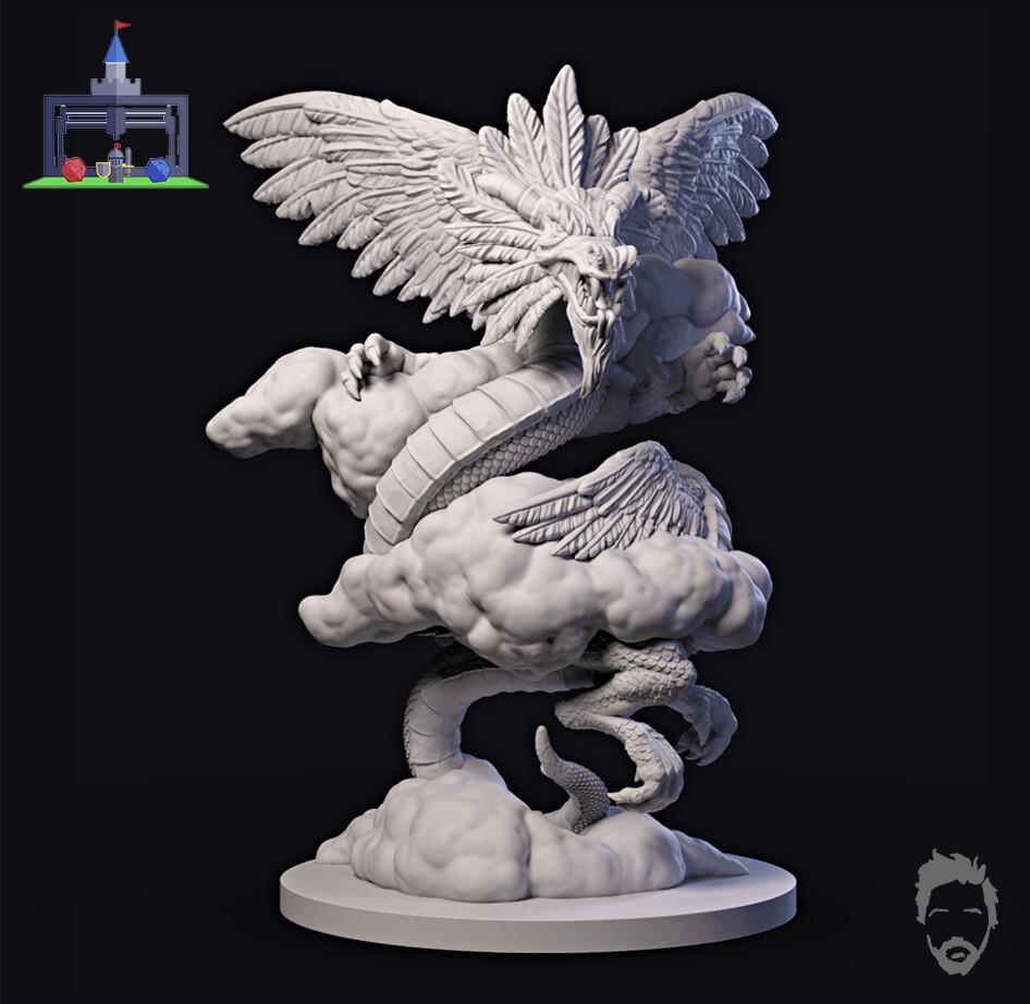 3DPTT - Lost Dragons - Storm Dragon
