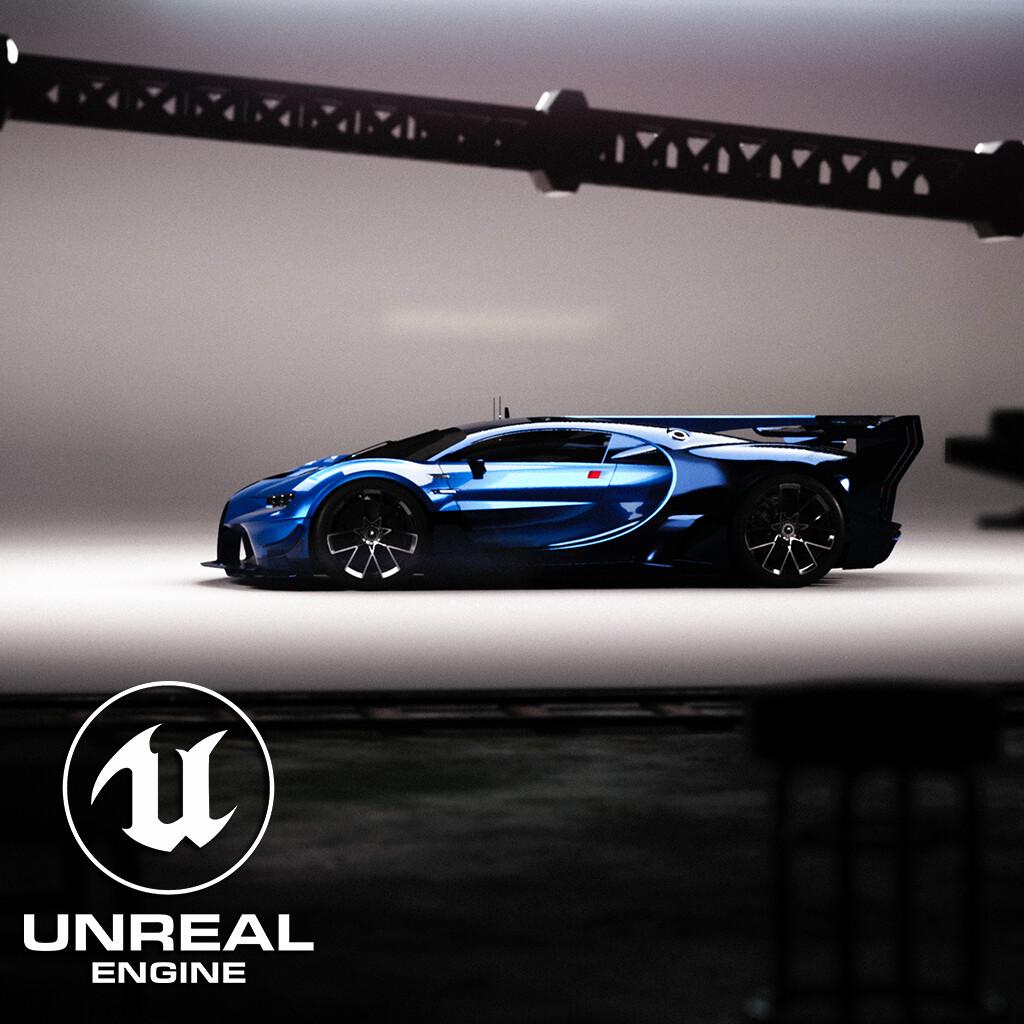 Bugatti Vision in Unreal Engine