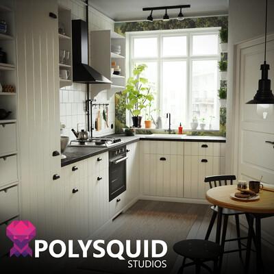Polysquid studios artstation thumbnail
