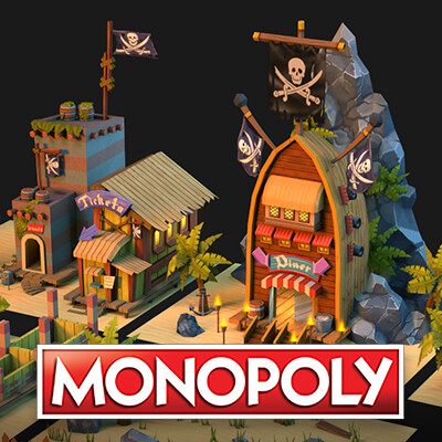 Monopoly: Pirate Village