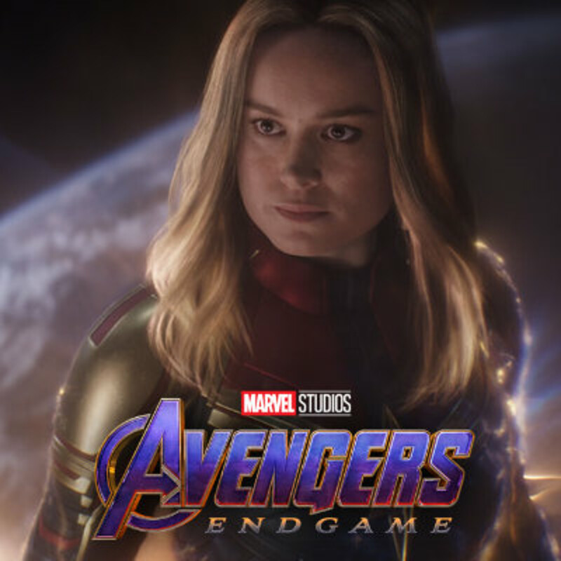 Avengers: Endgame - Captain Marvel