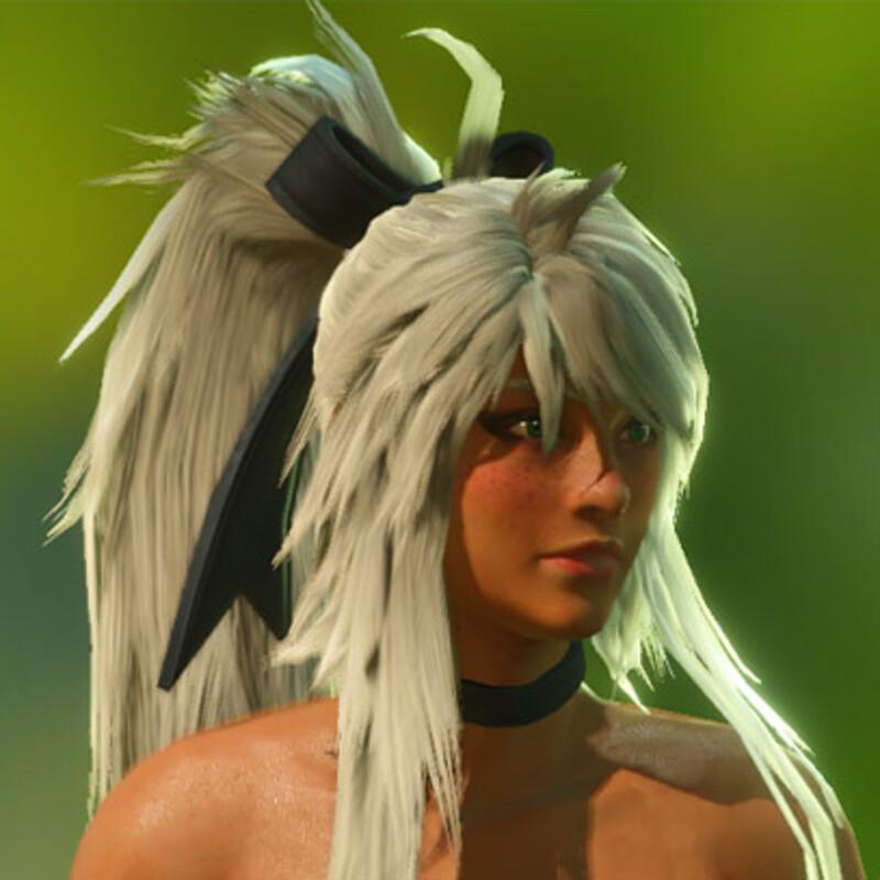 Tyriss's Custom Hair (MHW Mod)