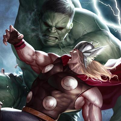 Inhyuk lee thor vs hulk