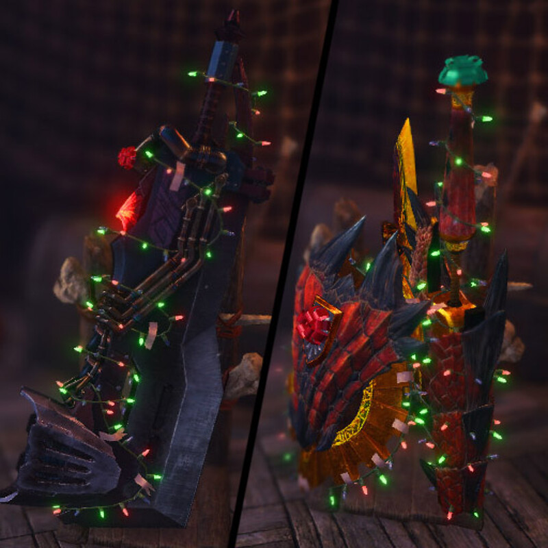 Festive Light Rig (MHW Community Mod)