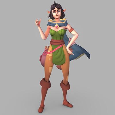 Salora, Rogue Elf