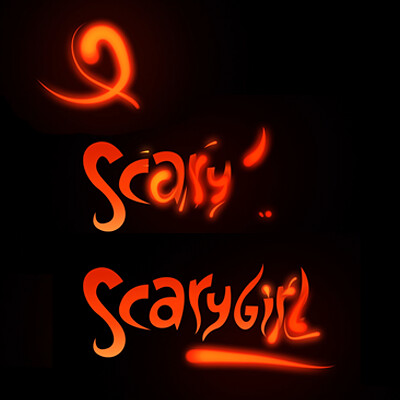 Scarygirl / Logo Animation