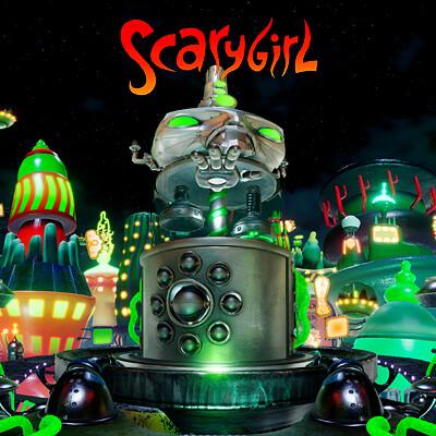 Scarygirl / City (UE4)