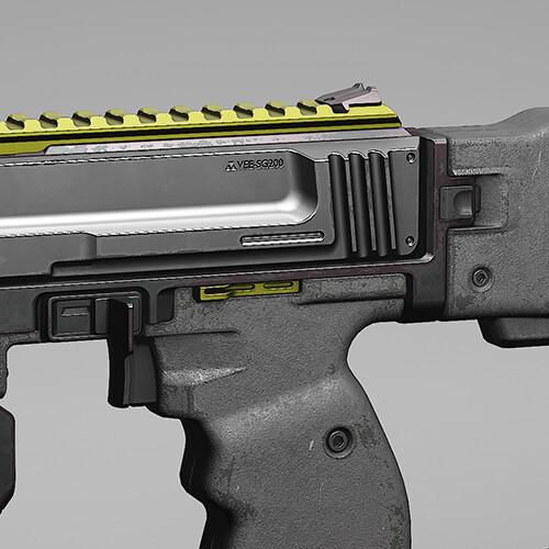 VEE-SG200, Gun Design