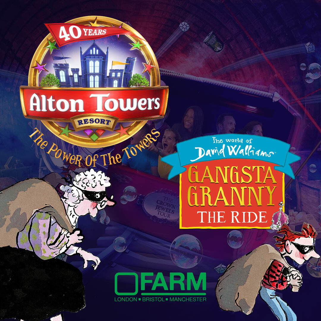 Gangsta Granny: The Ride at Alton Towers