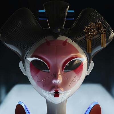 Robot Geishas