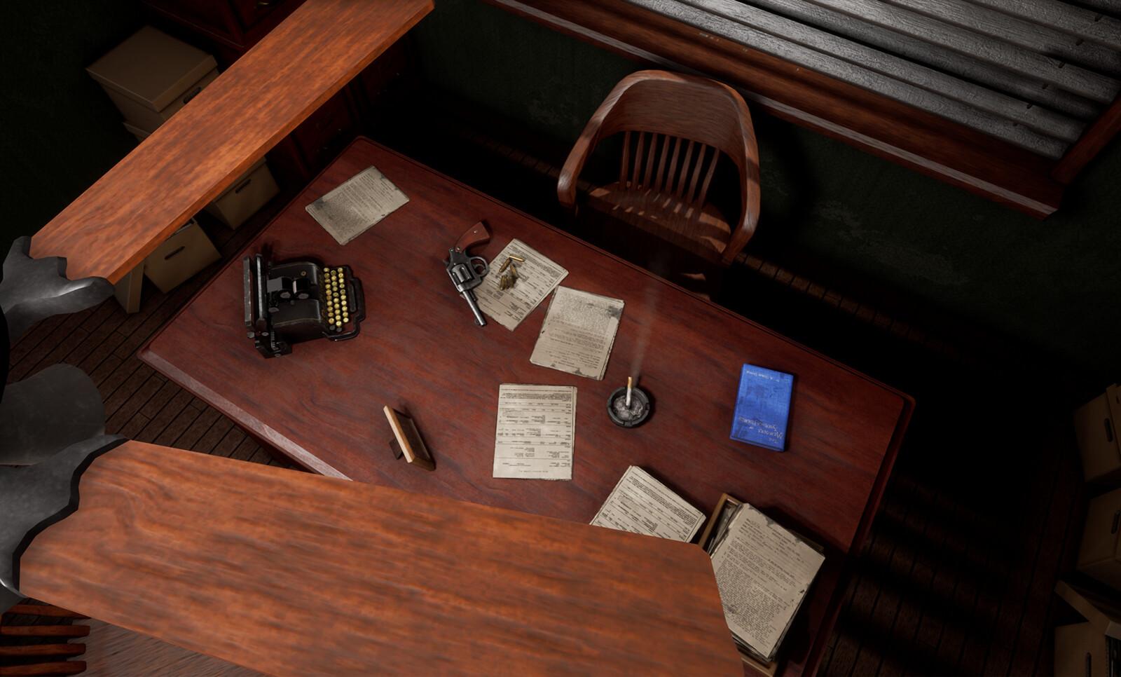 1920's Detective's Office
