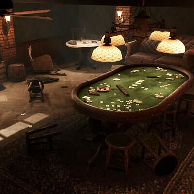 The Gambler's den