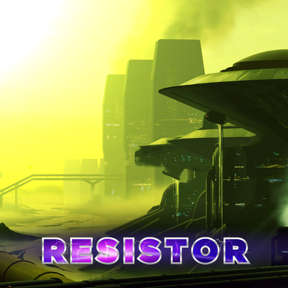 RESISTOR - Concept Art for Environments