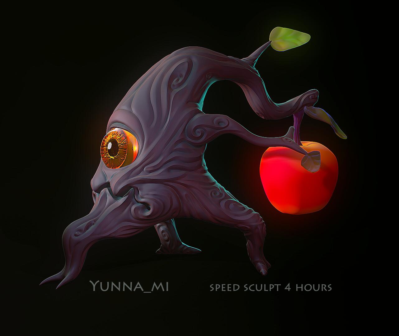 monster apple-root