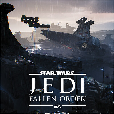 Star Wars - JEDI: Fallen Order | Bracca Intro Level Shots