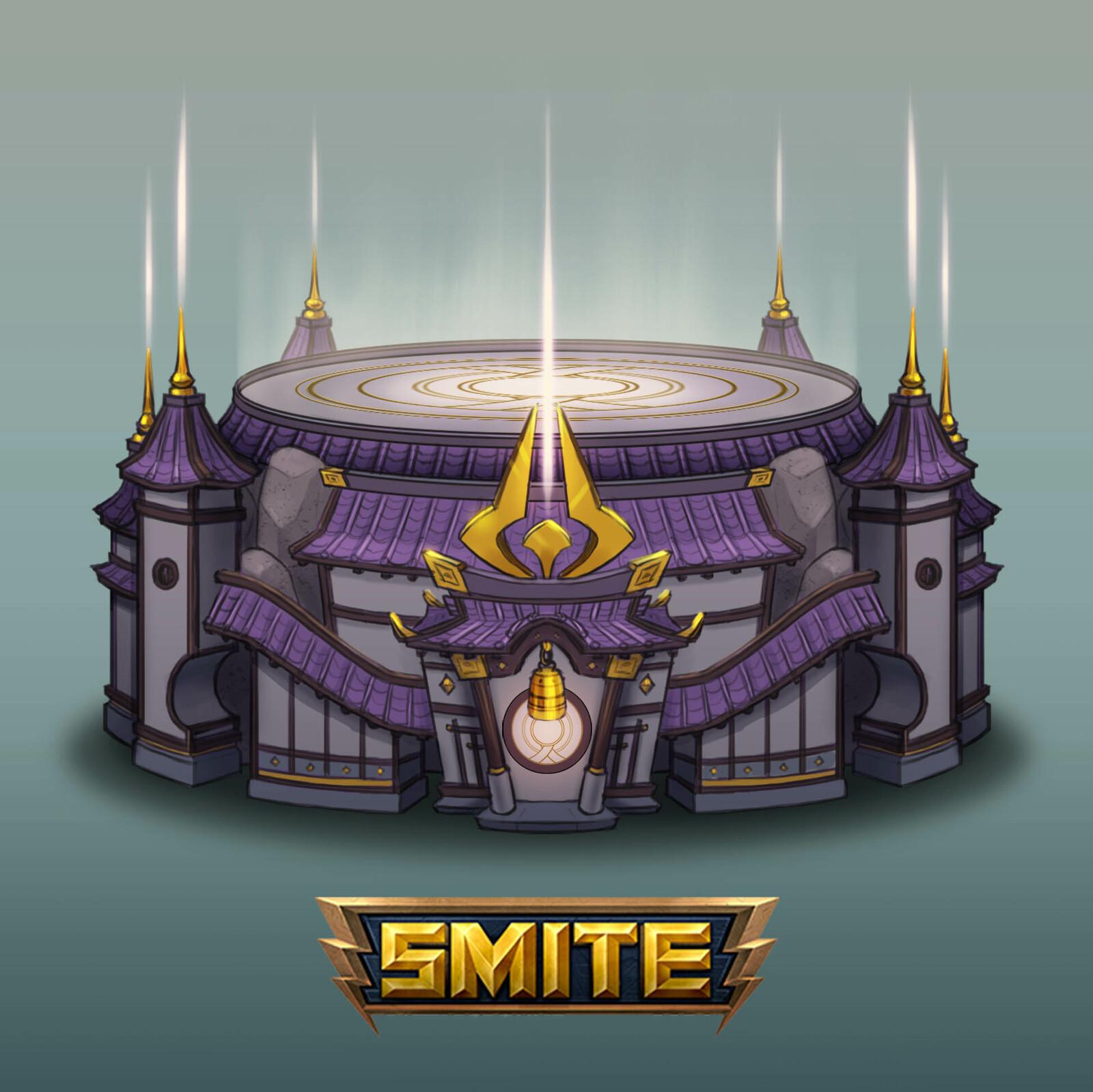 pedestal concept design_ Smite game