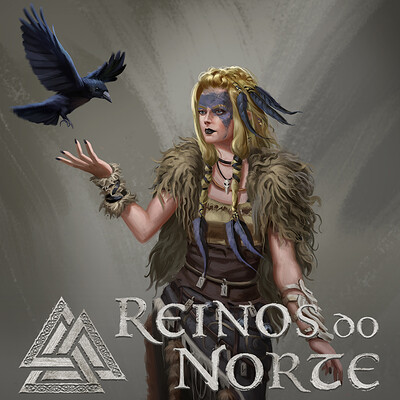 Leonardo santanna vikings bruxa capa