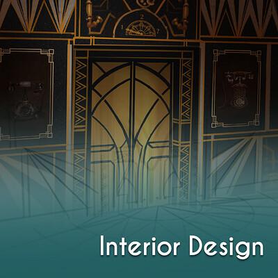 VR Interior Concept Art
