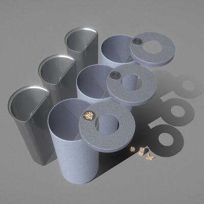 Dennis haupt trash can v2 3d modeled textured and animated by 3dhaupt aka dennish2010 in blender 2 81