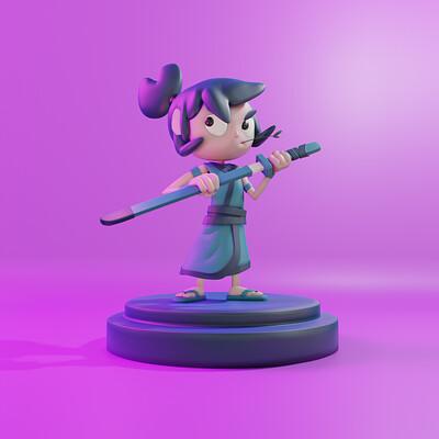 Regis florencio samurai 3d