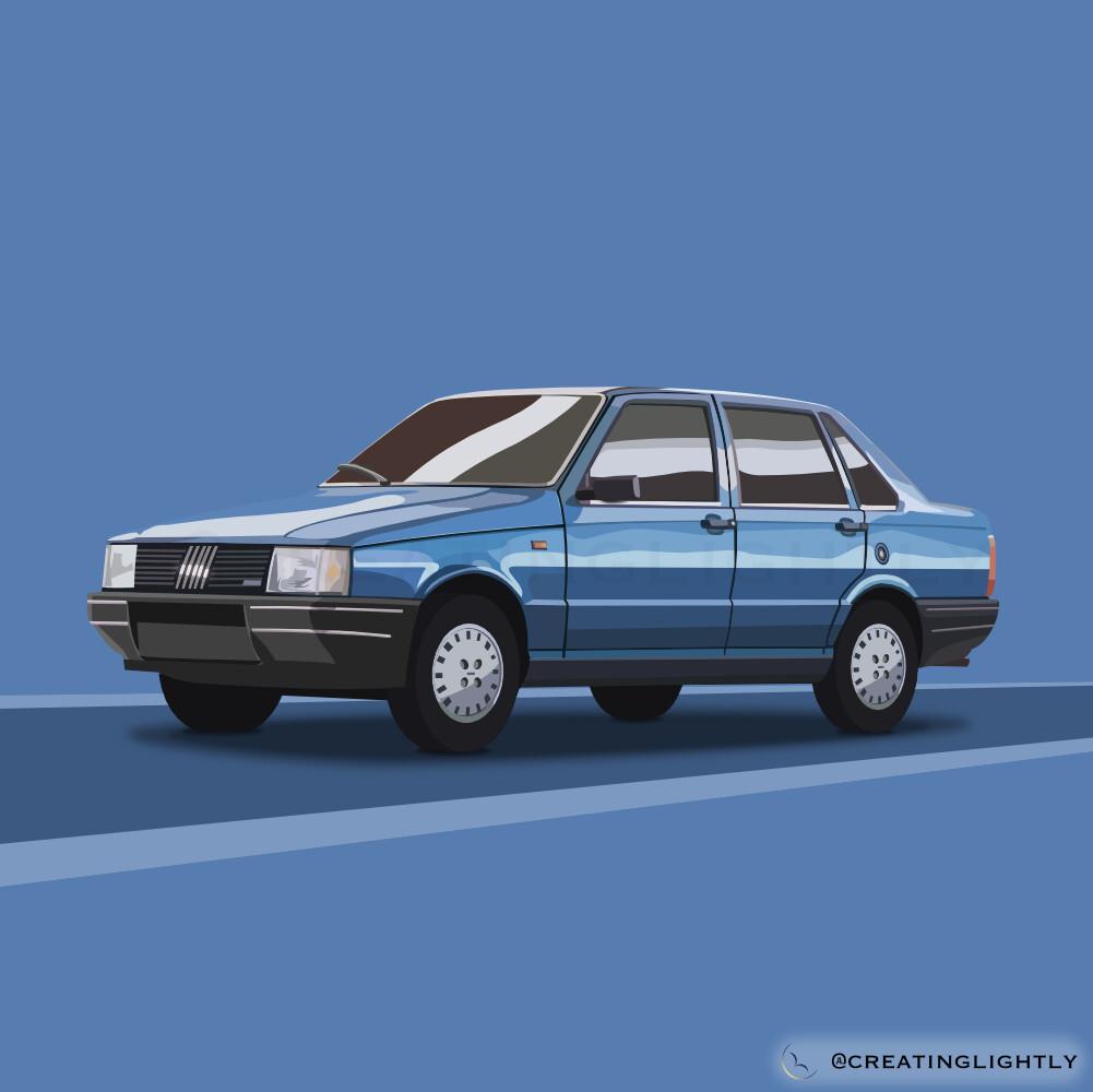Fiat Duna (Blue)