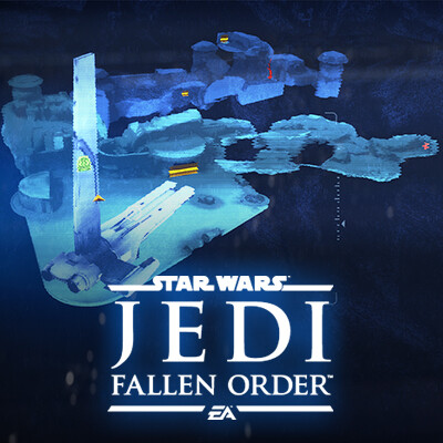 Holomap from STAR WARS Jedi: Fallen Order
