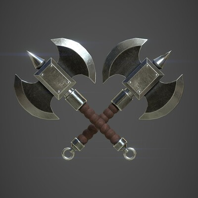 Battle Axe - Fantasy Weapon