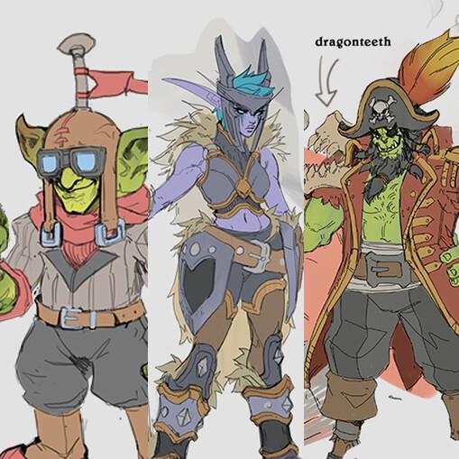 Descent of Dragons Concept