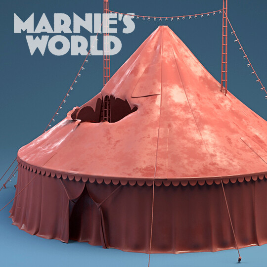 Props Modeling and Lookdev Marnie's World (2019)