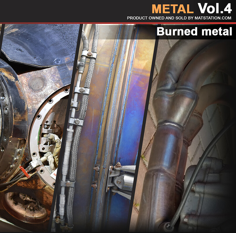 Photo Pack - Metal - Vol.4