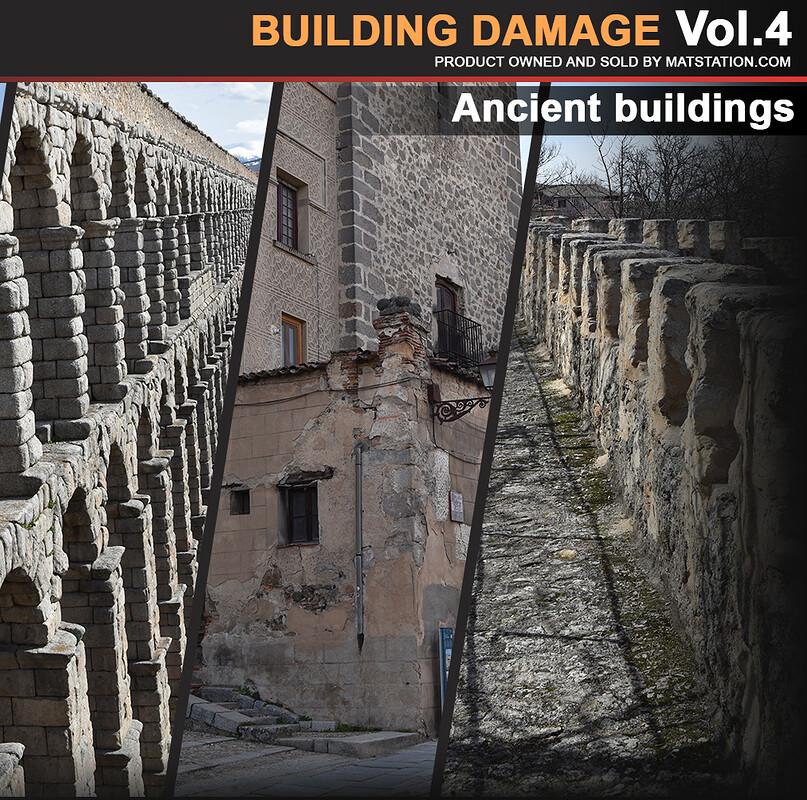 Photo Pack - Building Damage - Vol.4