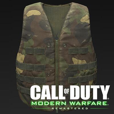 Christian gallego cover vest