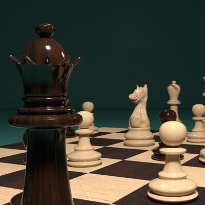 Ayesha fathima chessboard posed