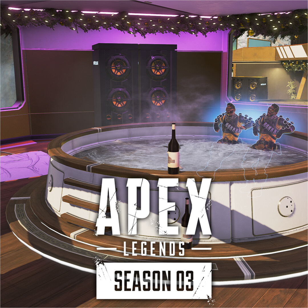 APEX LEGENDS S3 | Mirage Town Takeover | In-Engine Shots