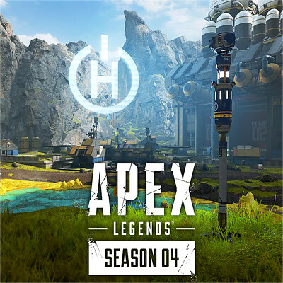 Apex Legends S4 | Destroyed Buildings & Hammond Beacon