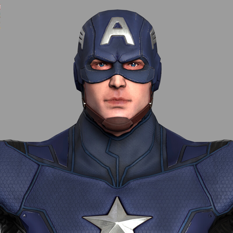 Captain America - MARVEL Dimension of Heroes