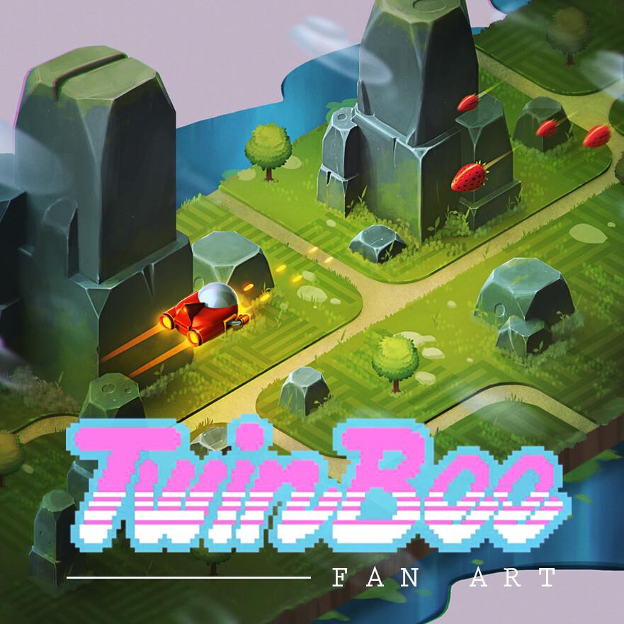 TwinBee (NES) - Redesign