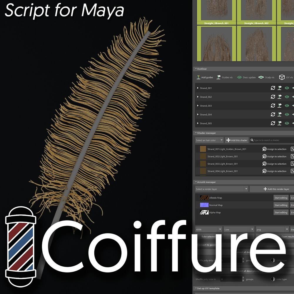 Coiffure, monthly update VOL1