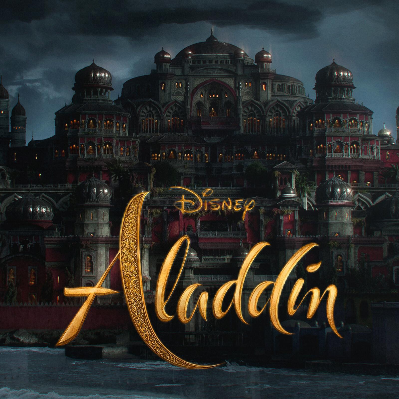 Aladdin 2019 VFX Jaffar's Castle