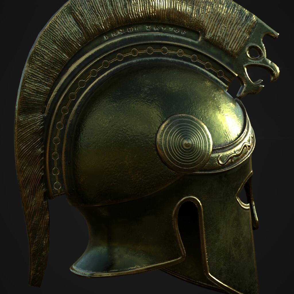 Greek hoplite helmet (Macedonian 3rd century BC)