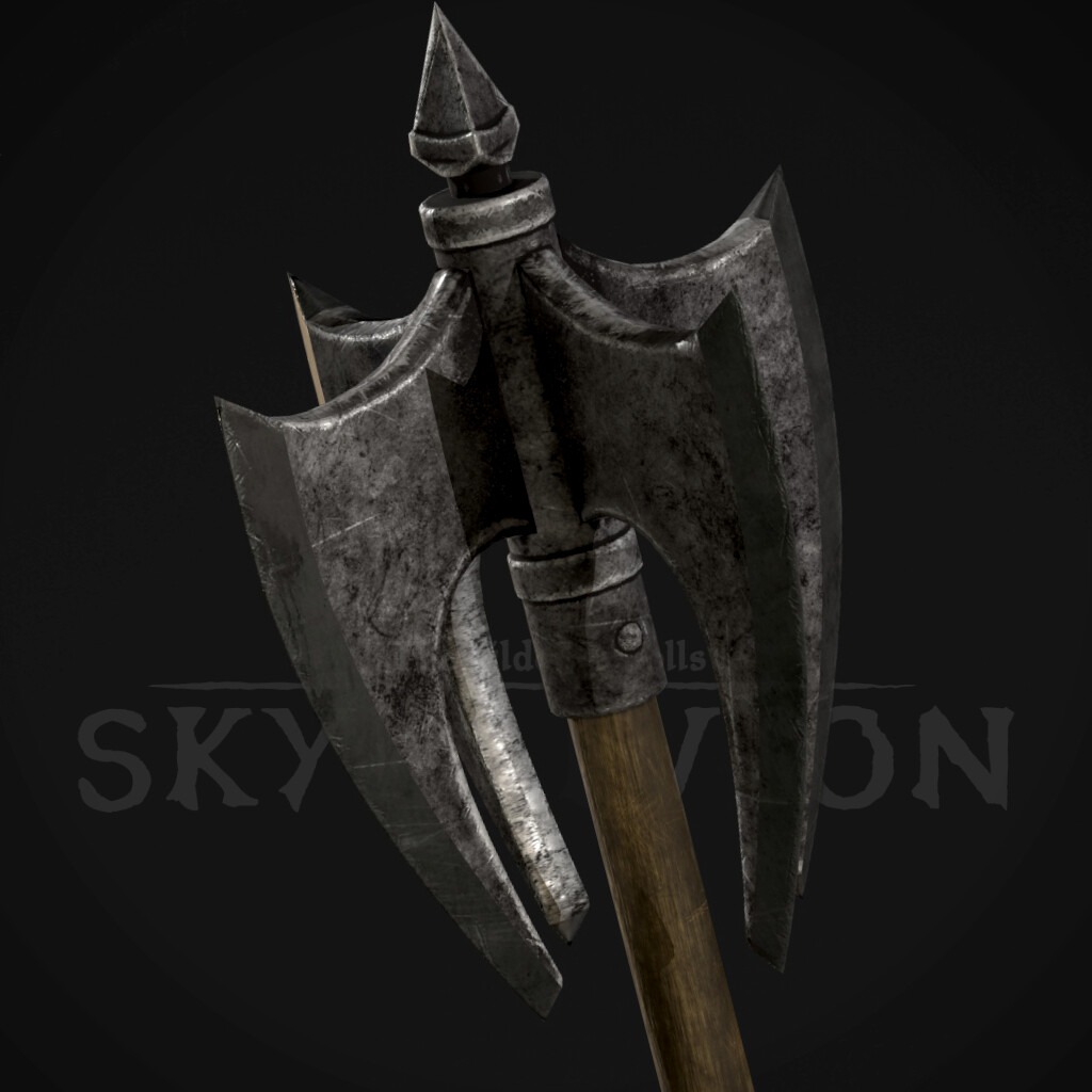 Iron Mace - Iron Weapons Set (TES:Skyblivion)
