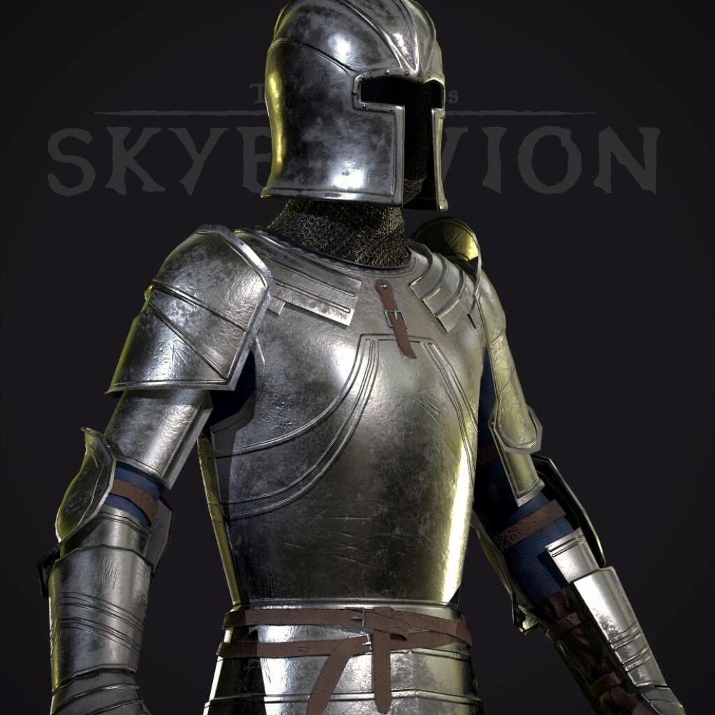 Steel Armor set - TES:Skyblivion