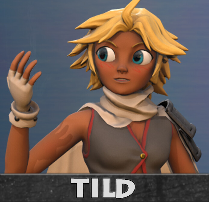 Tild - 3D Character
