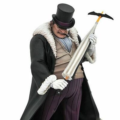 Alterton bizarre 0005664 dc comic gallery penguin pvc diorama