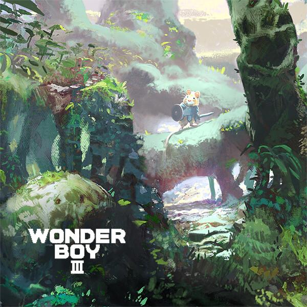 Wonderboy III: Dragons Trap fan art