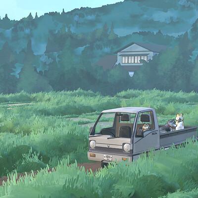 Rachel noy rachel noy 3d painted truck diorama 001 small