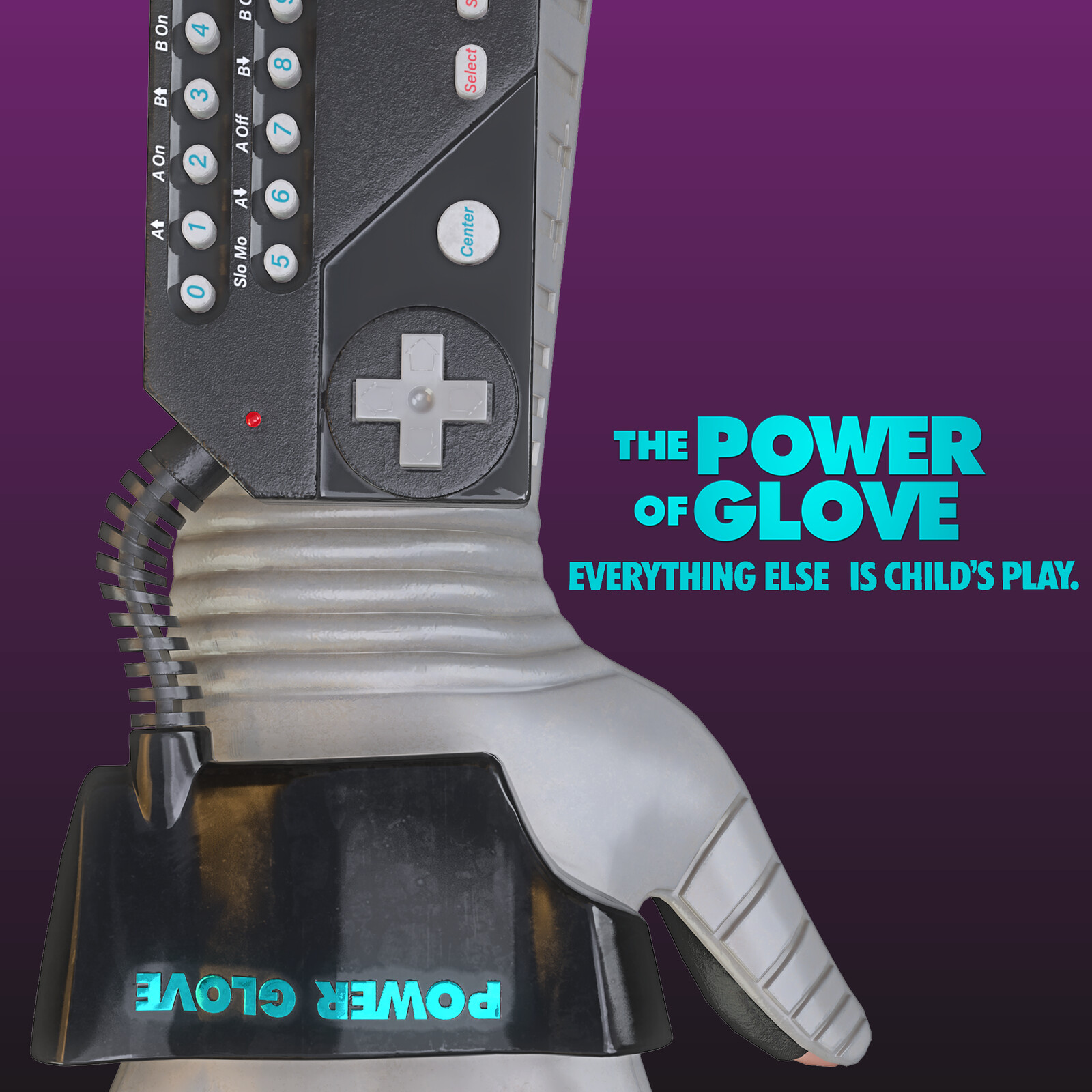 1989 Mattel - Power Glove
