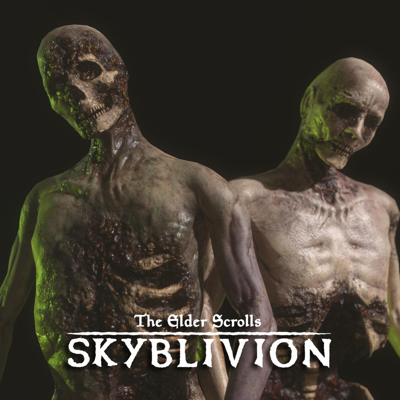 Skyblivion Zombies